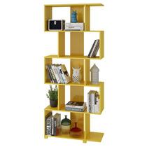 Librero Organizador Vanguardista Amarillo 5 Repisas B E 08