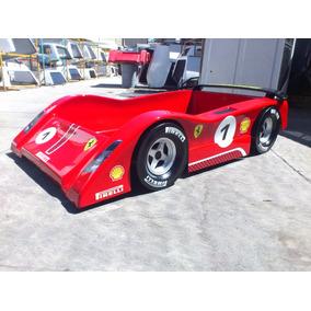 Cama Para Niño De Coche De Carreras Ferrari Personalizada
