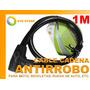 Cadena De Seguridad Anti Robo Moto Bicicleta Rueda Auto