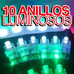 10 Anillos Luminosos Para Fiestas, Eventos, Batucada, Dj