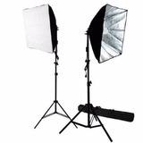 Kit Fotografico Softbox X 2 60cm, 85watt Limostudio®