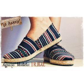 Alpargatas Artesanales La Pulpería- De Aguayo! Tribal