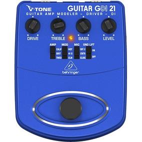 Pedal Guitarra Behringer Gdi21 V-tone - Pd0331