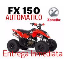 Cuatriciclo Zanella Fx 150 Automatico 0 Km 2017
