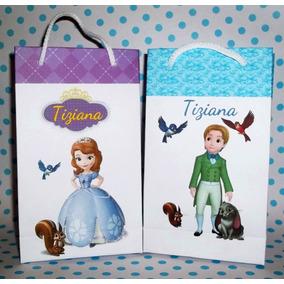 40 Bolsitas Princesa Sofia Souvenirs Cumple Mate Personaliza