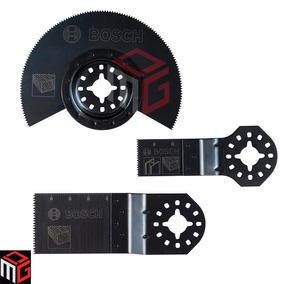 Set Accesorios Bosch Sierra Multicortadora Madera X 3u