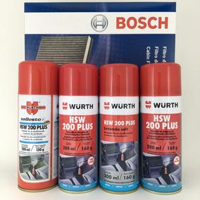 Filtro Ar Condicionado L200 Triton + Higienizador Wurth Hsw