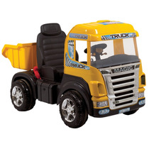 Carro Caminhao Eletrico Magic Toys Amarelo