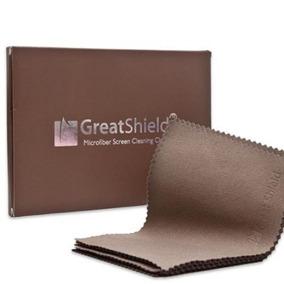 Greatshield Lujo Marrones Color De Microfibra Paños De Limpi