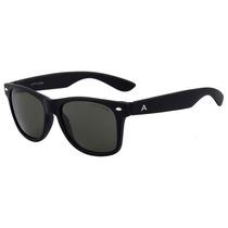 Atitude At 5224 - Óculos De Sol A01 Preto Fosco/ Verde -