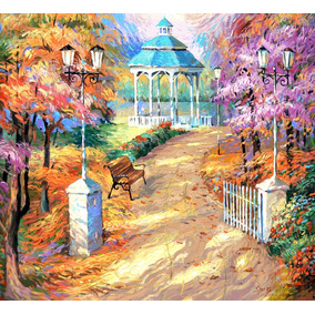 The Old Park - Cuadros, Pinturas Al Oleo De Dmitry Spiros