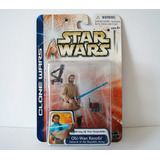 Obi Wan Kenobi Clone Wars Hasbro 2003 Nuevo Y Sellado