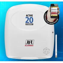 Central De Alarme Monitorável Active-20 Ethernet + Mrf-01