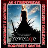 Serie Revenge 1ª Até 4ª Temporada Completa + Frete Grátis