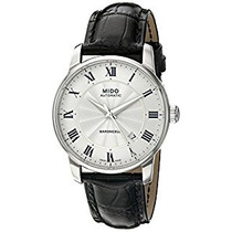 Relógio Mido Baroncelli Display Swiss Automatico Black