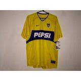 Camiseta Nike Boca Juniors Suplente 2003 Amarilla Nueva