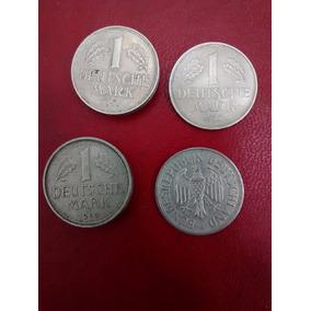 Moneda 1 Deutsche Mark Alemania Deutscheland Año 1950