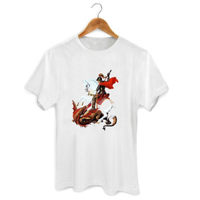 Camiseta Orixá São Jorge
