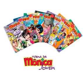 Revista Turma Da Mônica Jovem Kit 10 Revistas Novas