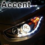 Focos Ojos De Angel Hyundai Accent