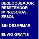 Desbloqueador Reset Impresora Epson Tx125 Envio Por Internet