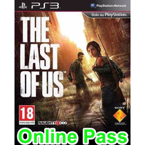 Online Pass The Last Of Us Ps3 Psn Cod Passe Para Jogar On