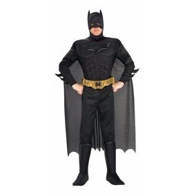 Disfraz Rubies Adult Deluxe Muscle Chest Batman Dark Knight