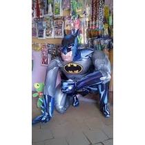 Globo Mike Batman Hombre Araña Gigante Cotillon Disney