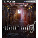 Resident Evil Zero 0 Ps3 Juegos Digitales