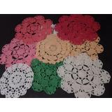 Carpetas Redondas Crochet