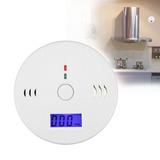 Detector Sensor Alarme Fumaça Gás Incêndio Monóxido Digital