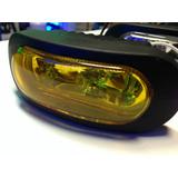 Caminero Foco Amarillo X Auto/ Moto 12v C/lampara Jgox2 Nvos