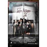 Los Locos Adams 2 ! Afiche Cine Orig 1993 Raul Julia N427