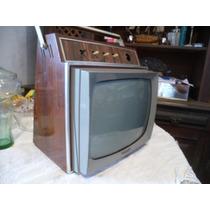 Tv Antiga Colorado Valvula Primeira Portatil Muito Procurada