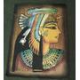 Papiro De Cleopatra, Papiro Marron. Cuadro Egipcio