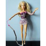 Boneca Barbie Ginástica Olimpica Rítmica Mattel