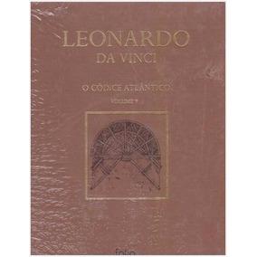 Livro-leonardo Da Vinci O Códice Atlântico Volume 09