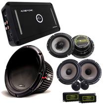 Kit Pro Audiophonic C/ Módulo + Sub 10
