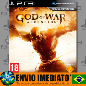 God Of War Ascension - Ps3 - Código Psn - Português