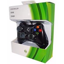 Controle Para Xbox 360 E Pc Com Fio Joystick Video Game
