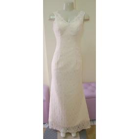 Vestido De Noiva 36 38 40 Sereia - Pronta Entrega - Vn00163