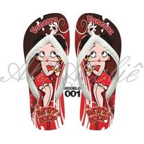 Sandálias Chinelos Havaianas Personalizadas Betty Boop