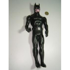 Juguete Antiguo Plastico Inflado Batman