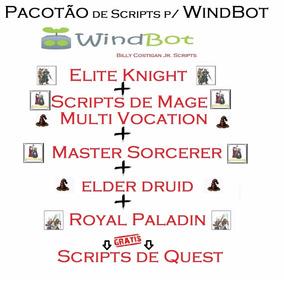 Scripts De Windbot Todas As Vocações Do 1 Ao 400 + Quests !