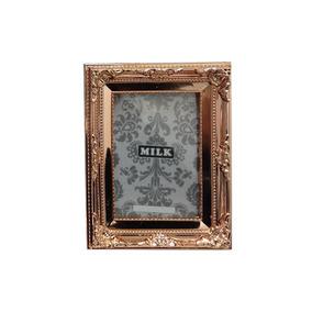 Porta Retrato De Plástico Cobre 13x18cm - Milk