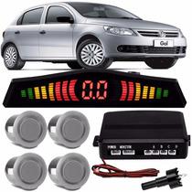 Sensor De Estacionamento Prata Volkswagen Gol G5 2010