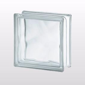 Bloco De Vidro Transparente 06 Peças 19x19