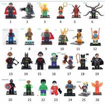 Lego Vingadores Marvel Dc Super Homem Ferro Deadpool Hulk