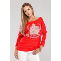 Blusa Casaquinho Da Grife Triton Vermelha Linda Com Etiqueta
