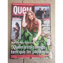 Revista Quem Marina Ruy Barbosa Luiza Possi Carol Castro